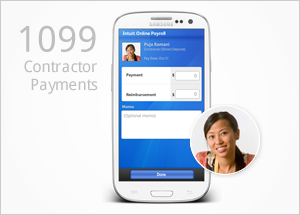 Mobile Payroll 1099 Feature