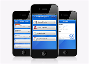 Mobile Payroll Taxes Feature