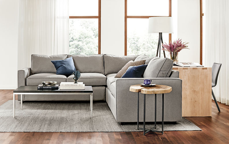 Here's what we chose in case you're curious. York sofa by Room & Board.