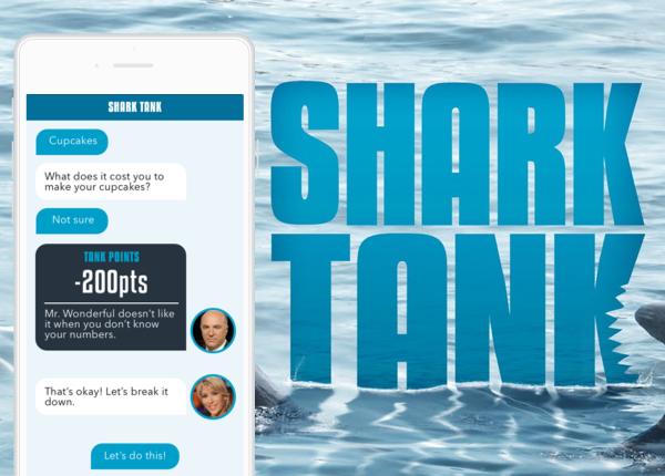 QB Shark Tank App Concept