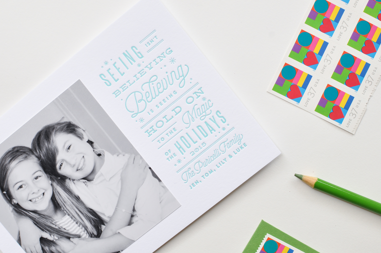 Custom Design: Letterpress Holiday Cards — Lauren Chism
