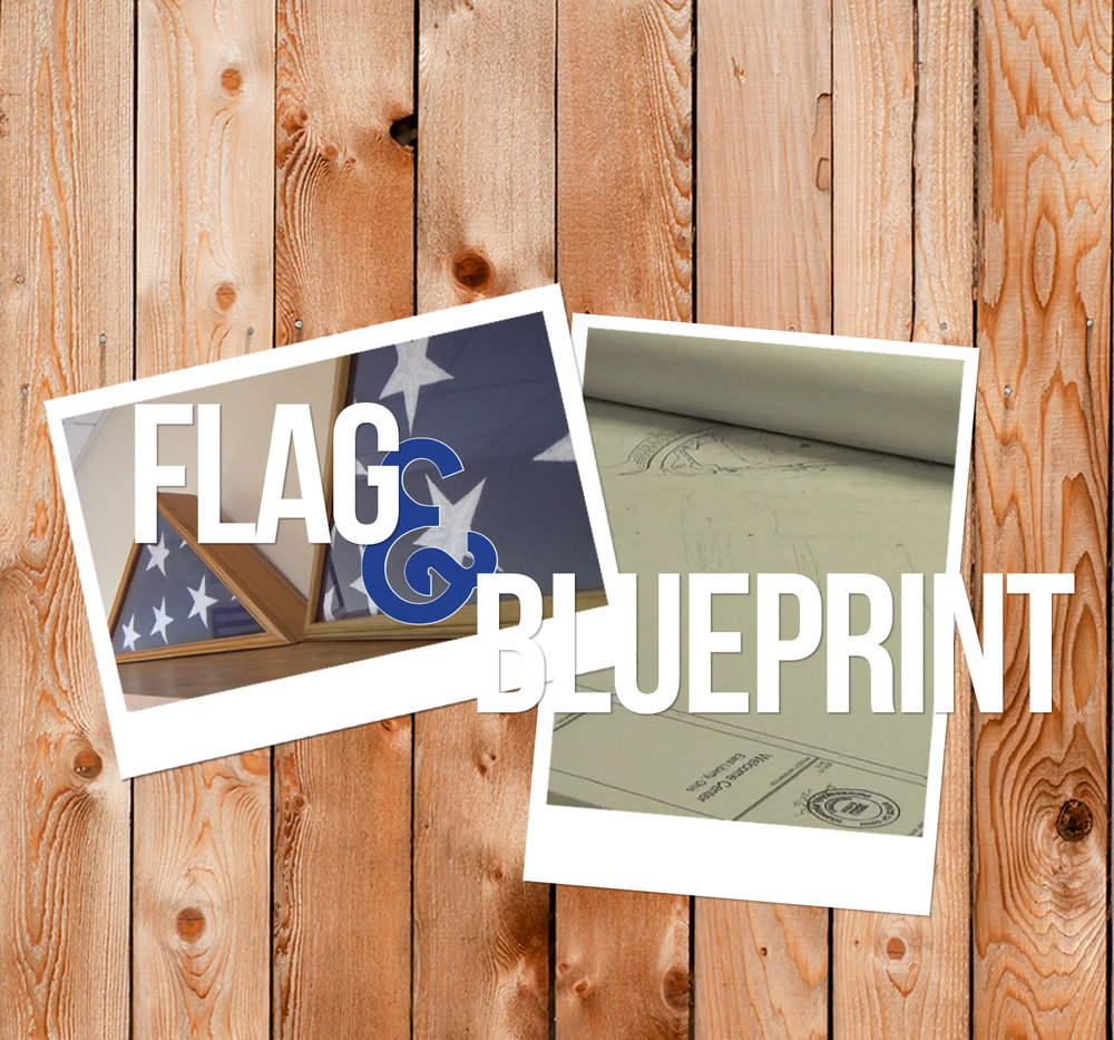 Flag & Blueprint