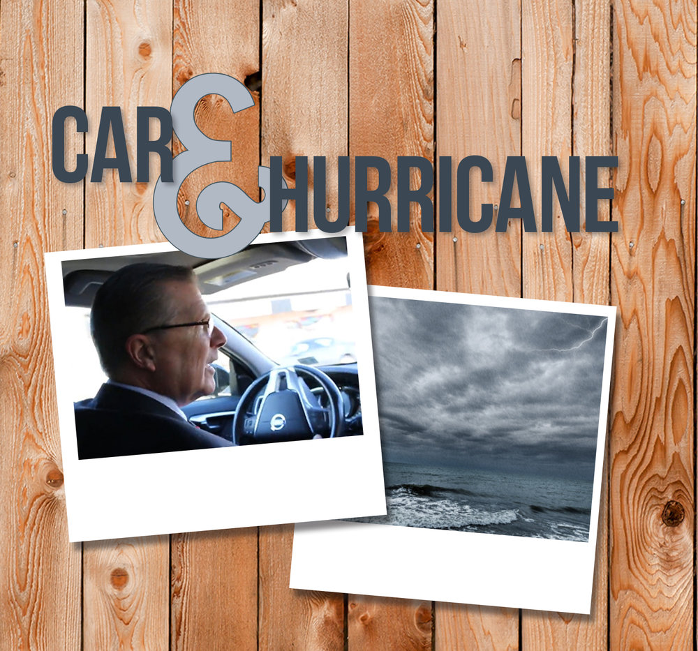 Car & Hurricane