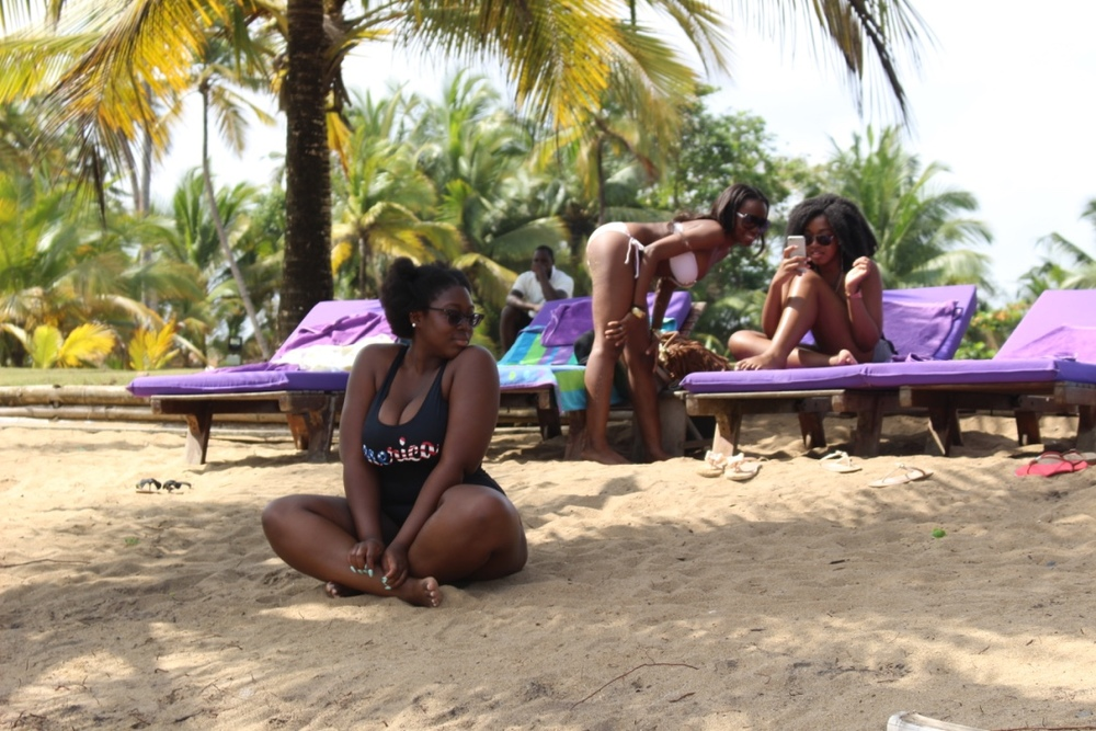 Girls on Lou Moon Beach 5