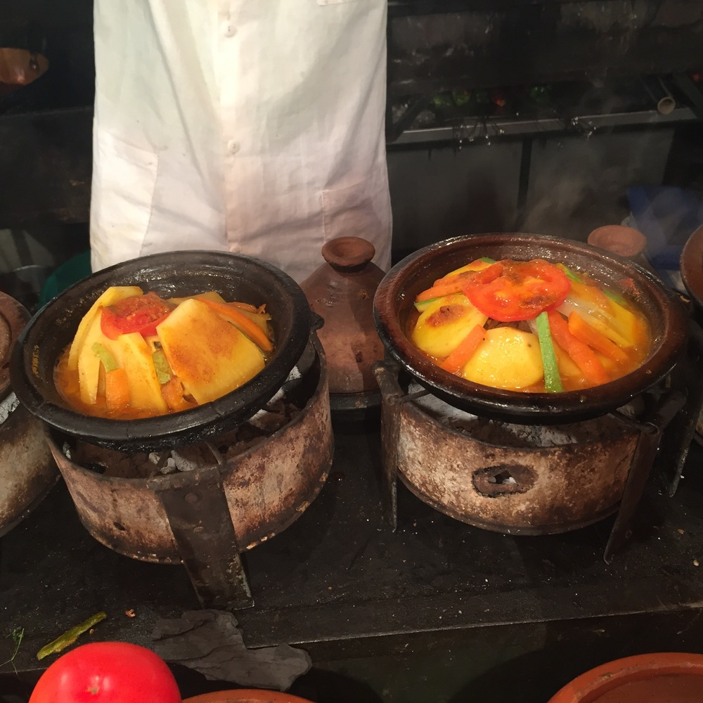 Tajines slow cooking, The Medina