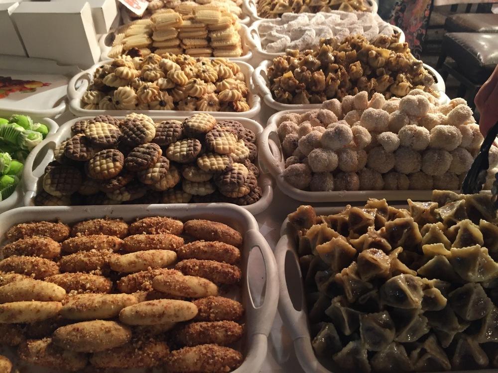 Morrocan sweets, The Medina