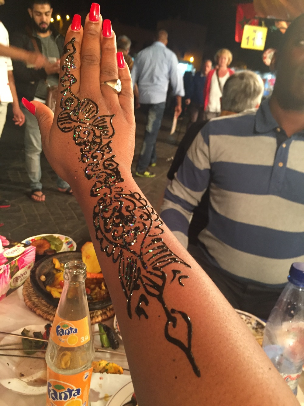 Henna Tattoo, The Medina