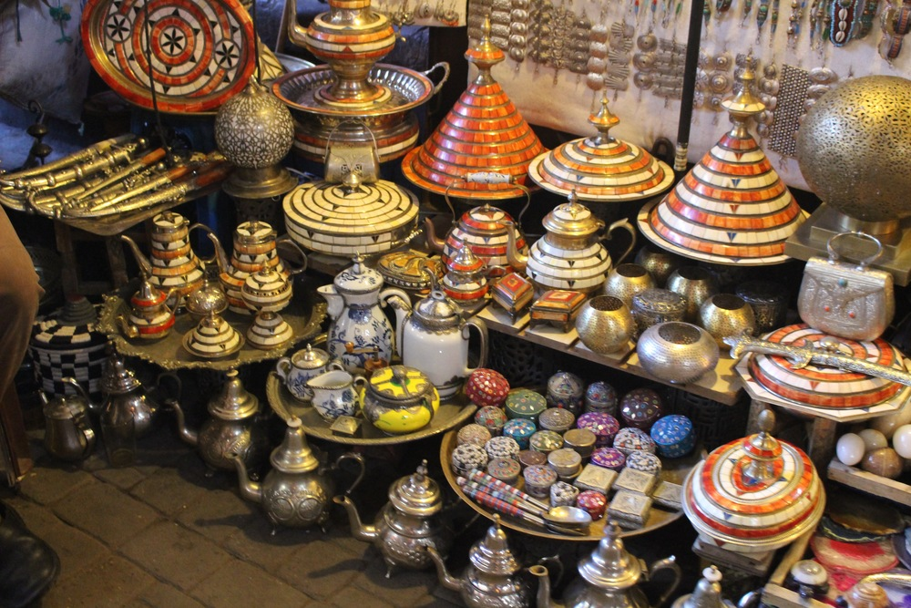 Moroccan Art, The Medina