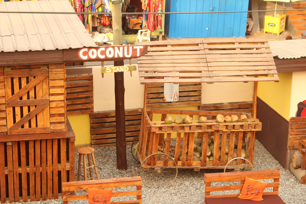 Kona Cafe and Grill Coconut Stand