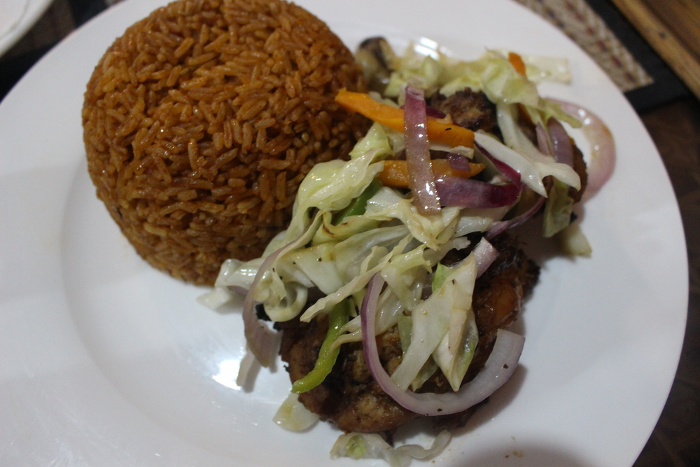 Jollof and grilled chicken, 31 Cravings
