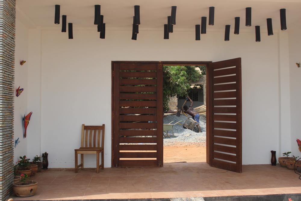 Tea Baa Temporary Location Entrance