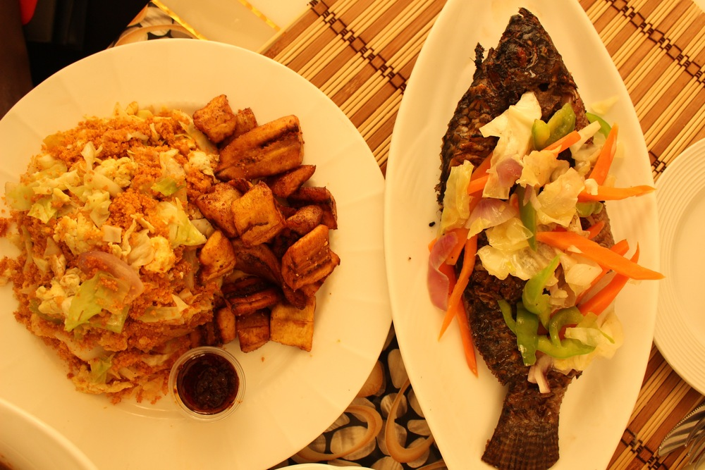 Gari Foto and Grilled Tilapia, Mazera