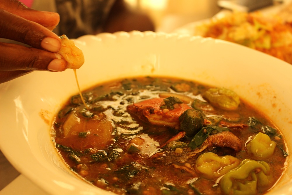 Okro soup, Mazera