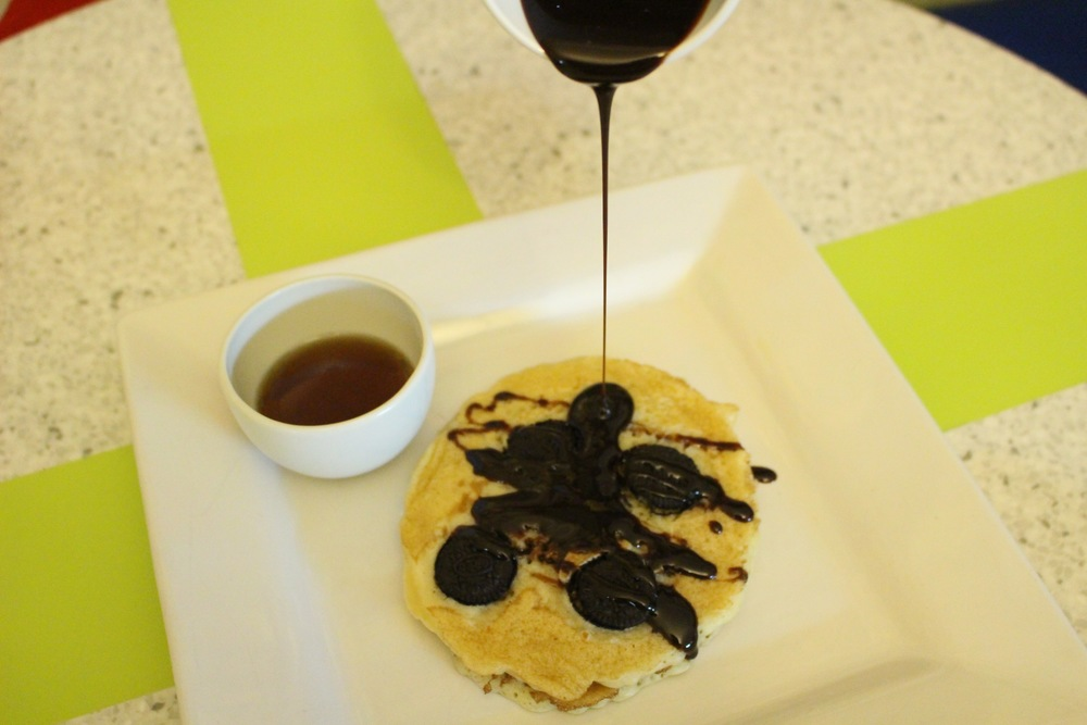 Oreo Pancake, Wafflemania