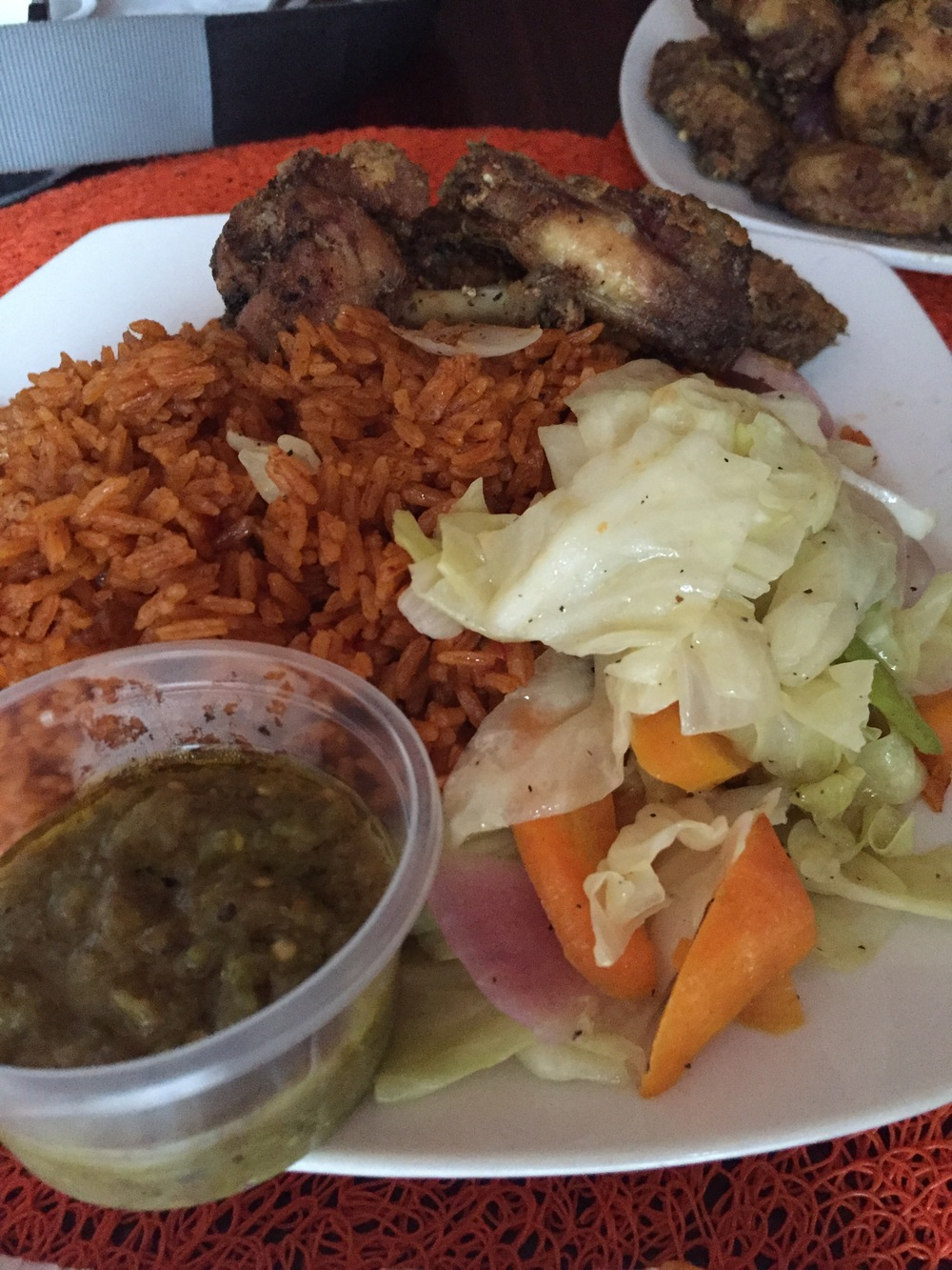Up close with the jollof, Mukasechic