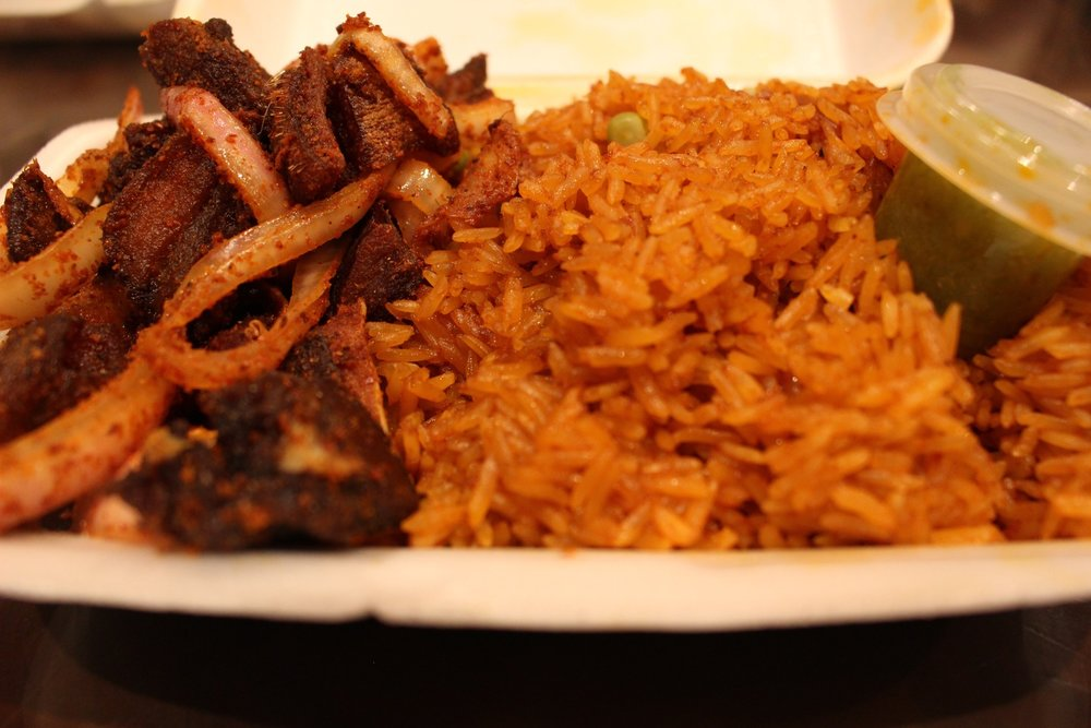 Pork and Jollof, Pork office