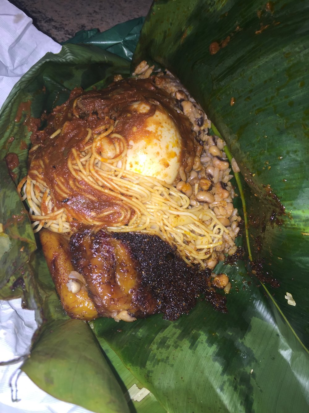 Assorted Waakye, Adabraka