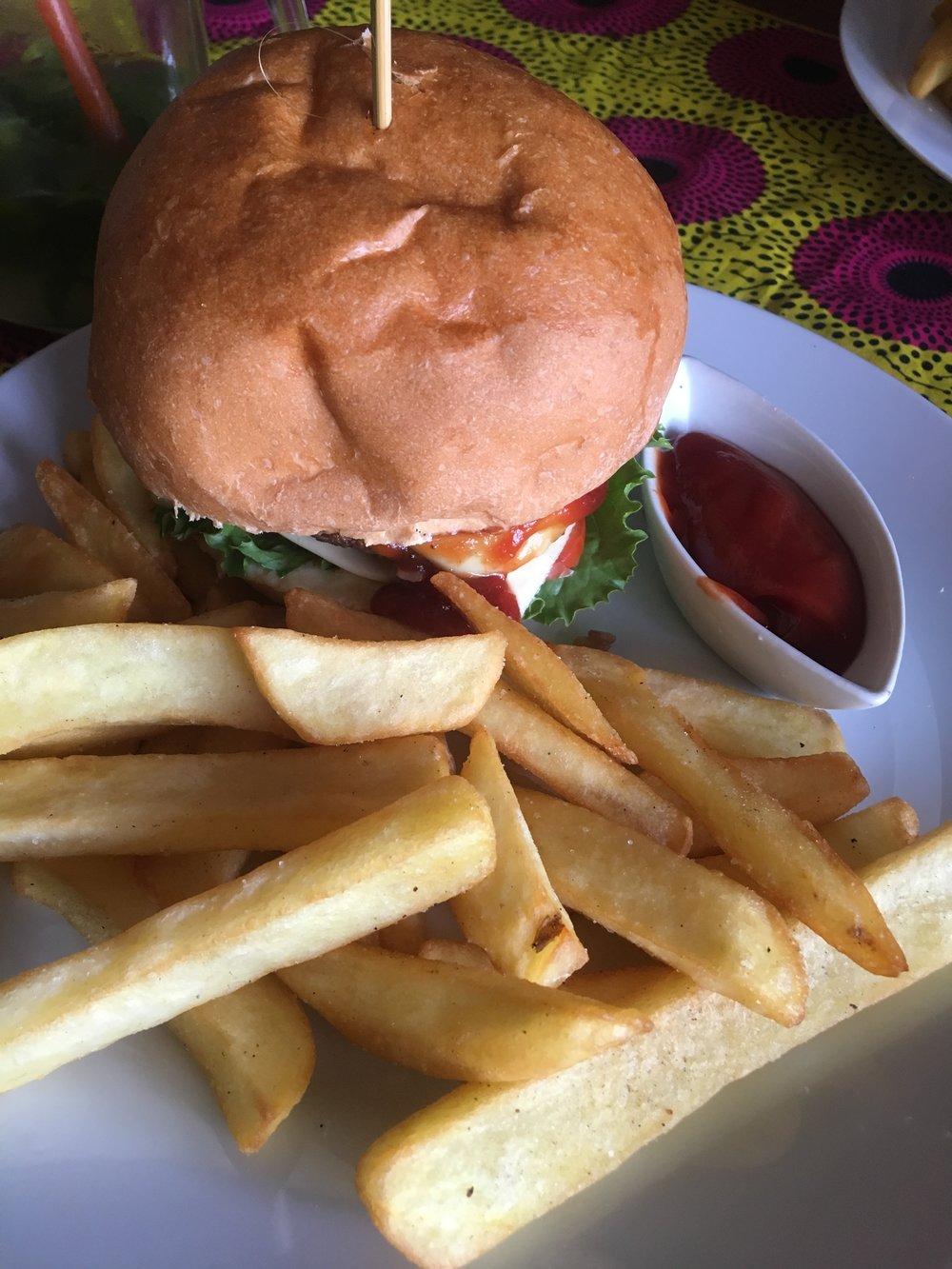 Spicy Sweet Chili Burger
