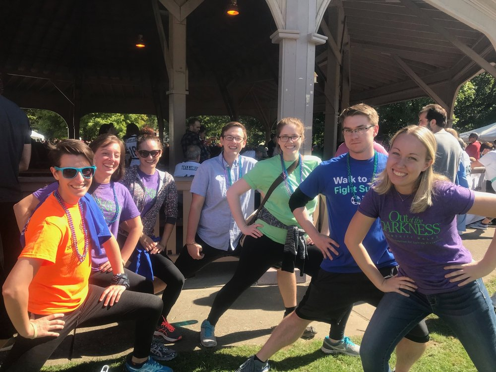 Fall 2018 AFSP Out of the Darkness Walk