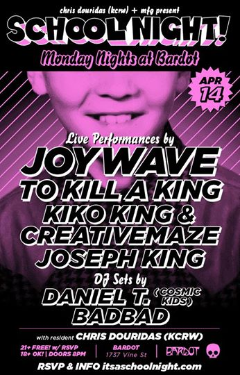 Joywave Schoo night