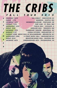The Cribs Fall U.S Tour (1)