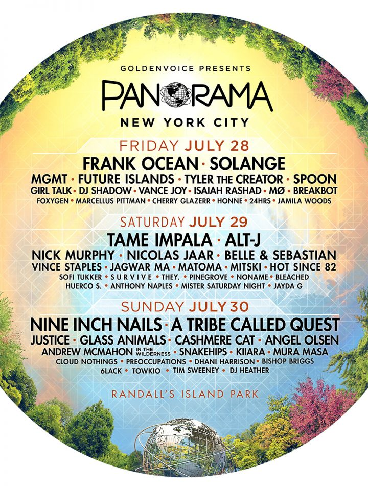 MGMT will be performing on July 28th at the Panorama Music Festival in New York City. For tickets and more details go to: http://www.panorama.nyc