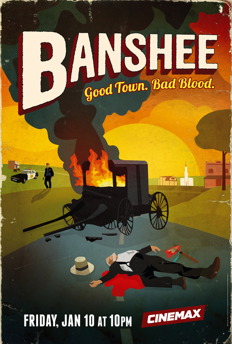 Banshee   Dailies Colorist and Tech  Season 1 and 2