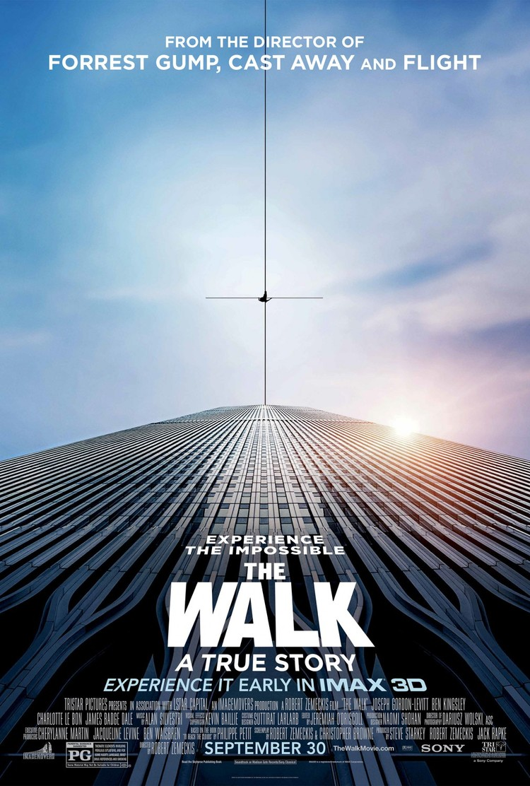 The Walk   Assistant Editor  Editor- Jeremiah O'Driscoll    TRAILER