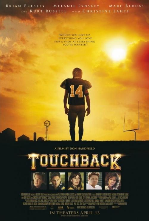Touchback   1st Assistant Editor  Editor- Debbie Berman     T     RAILER