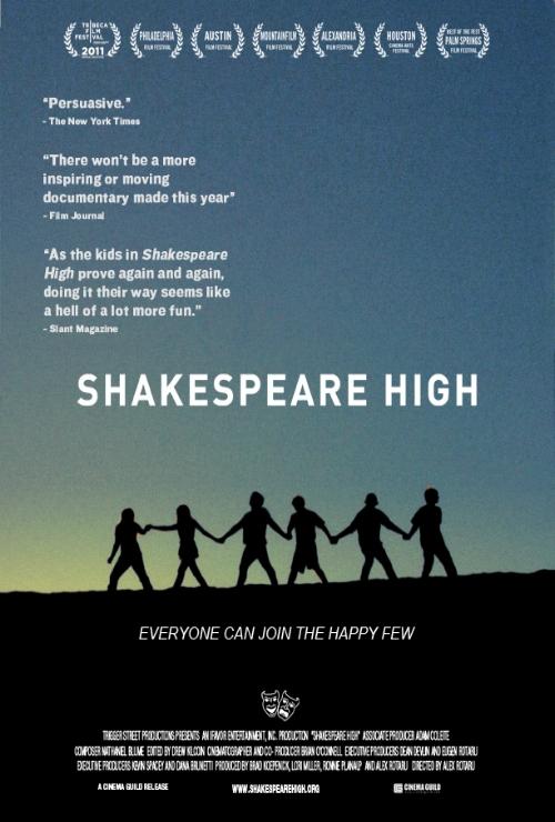 Shakespeare High   Editor  Director- Alex Rotaru    TRAILER      IMDB