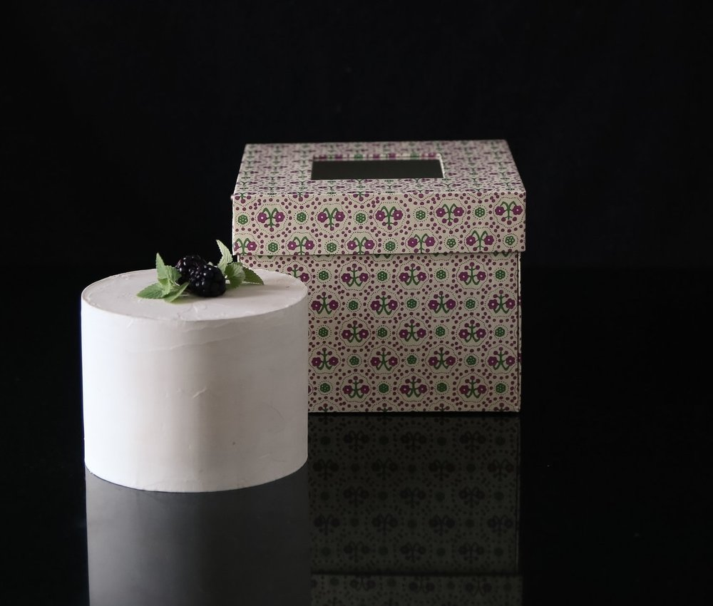 - Using the finest decorative art paper and traditional bookbinding techniques, Cakewalk boxes are handcrafted in our Manhattan studio. These luxurious, collectible boxes will serve you long after the last slice of cake has disappeared.