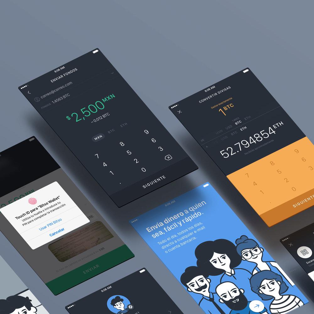 Bitso App  - UI/UX