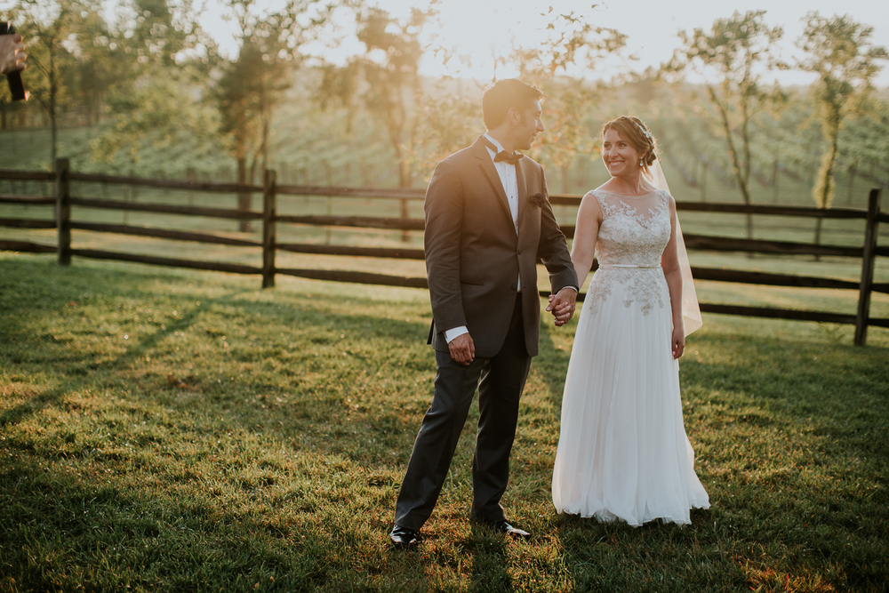 Allison + Frank | Married Centreville, VA