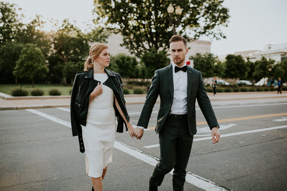 Devan + Daniel | Eloped Washington DC
