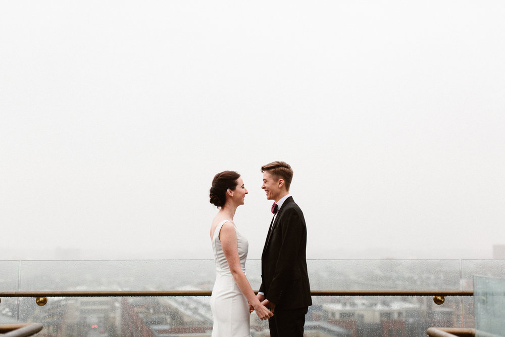 Alex + Cat | Married  Washington DC