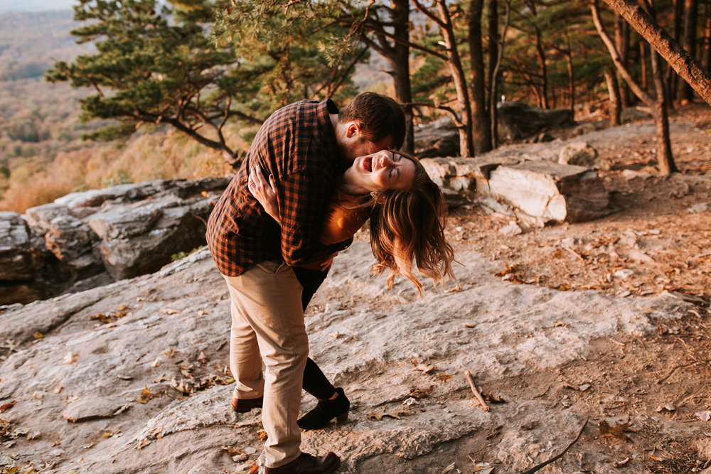 Emily + Mike | Engaged  Bluemont, VA
