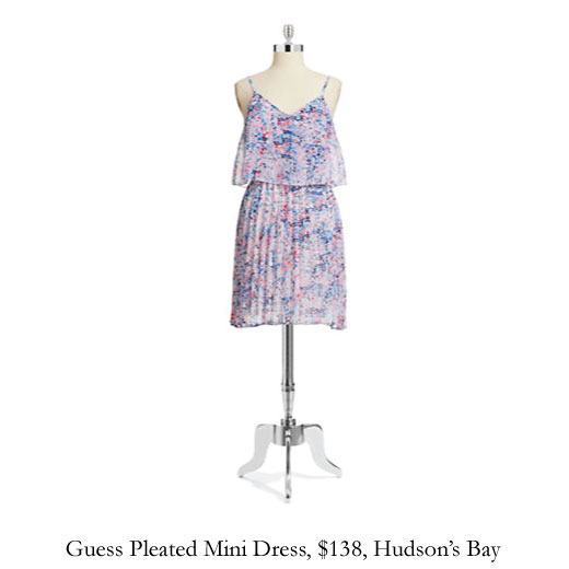 guess-pleated-mini-dress-the-bay.jpg