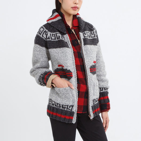 Mary Maxim Curling Sweater, $268, Roots