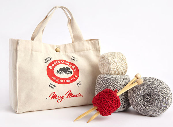Mary Maxim Knit Kit, $50, Roots