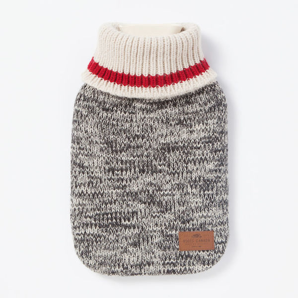 Cabin Sock Hot Water Bottle, $28, Roots