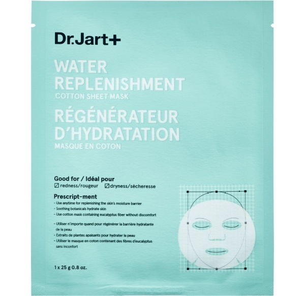 Dr. Jart Water Replenishment Cotton Sheet Mask, Sephora