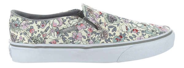 VANS Asher Floral Sneaker, $65, Town Shoes