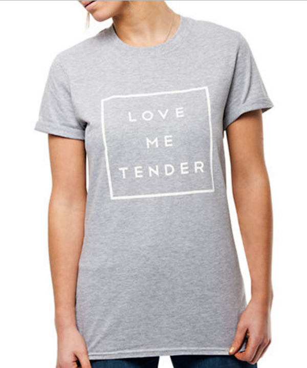 Love Me Tender Tee, $16, Hudson's Bay