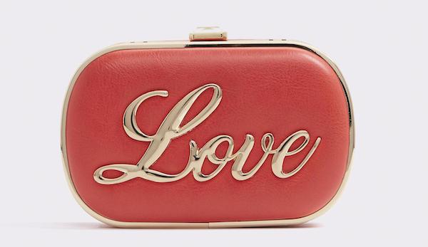 Love Clutch, $50, ALDO