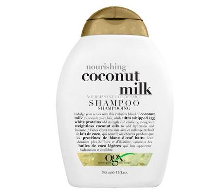 OGX Nourishing Coconut Milk Shampoo, $9, Walmart