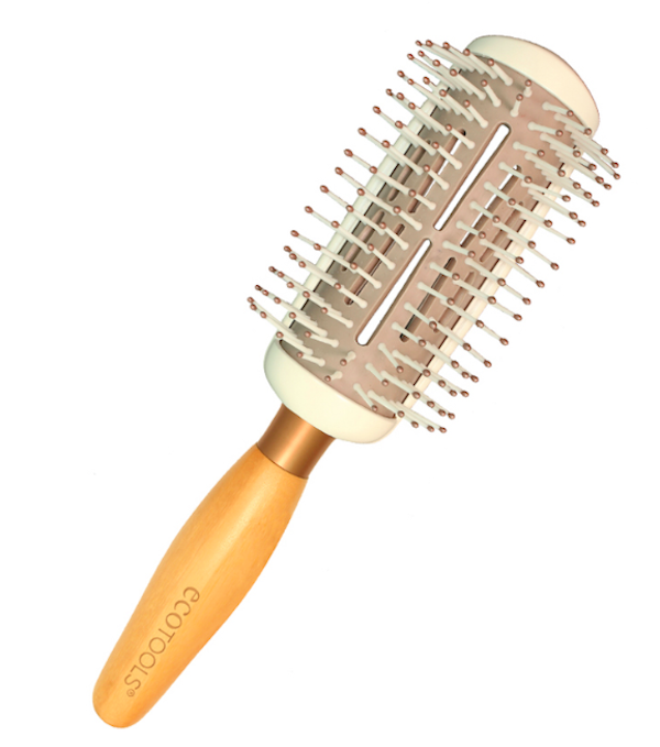Ecotools Styler and Smoother Hairbrush, $19, Walmart