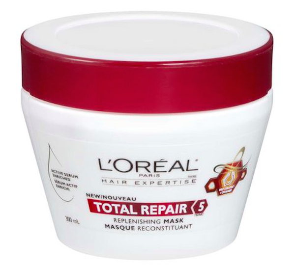 L'Oréal Paris Total Repair 5 Replenishing Mask, $7, Walmart