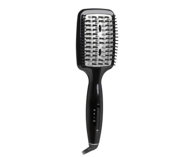 Conair InfinitiPRO Diamond Brilliance Shine System Ionic Straightening Brush, $70, Walmart