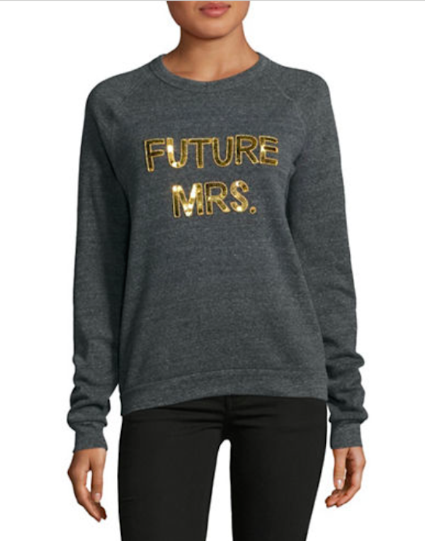 Bow & Drape Sweatshirt at Hudson's Bay