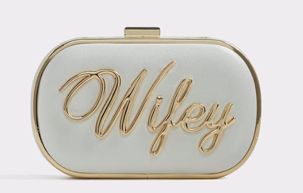 Wifey Clutch, $45, ALDO